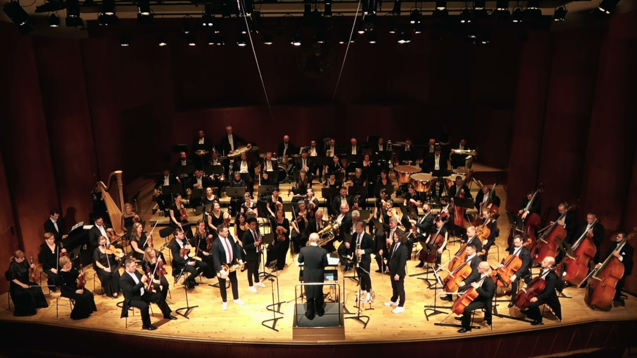"""Canadian Brass plays """"On a Bus"""" by Alexandros Livitsanos"""