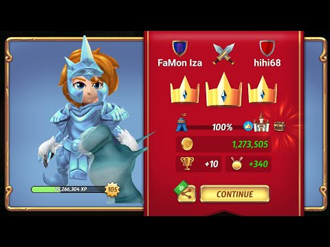 Royal Revolt 2 - How To Get More Medals And Trophies