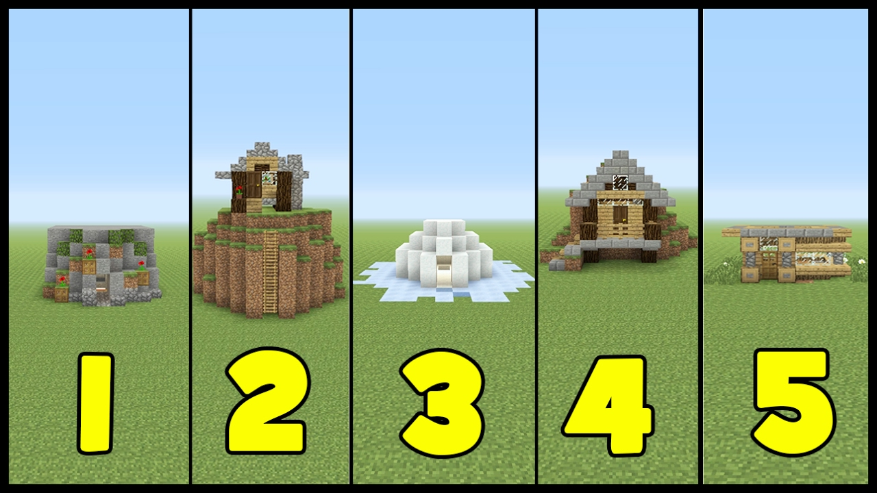 12 Starter Houses in 12 Minutes
