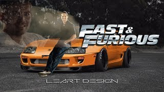 Toyota Supra (Fast And Furious PAUL WALKER) Virtual Tuning
