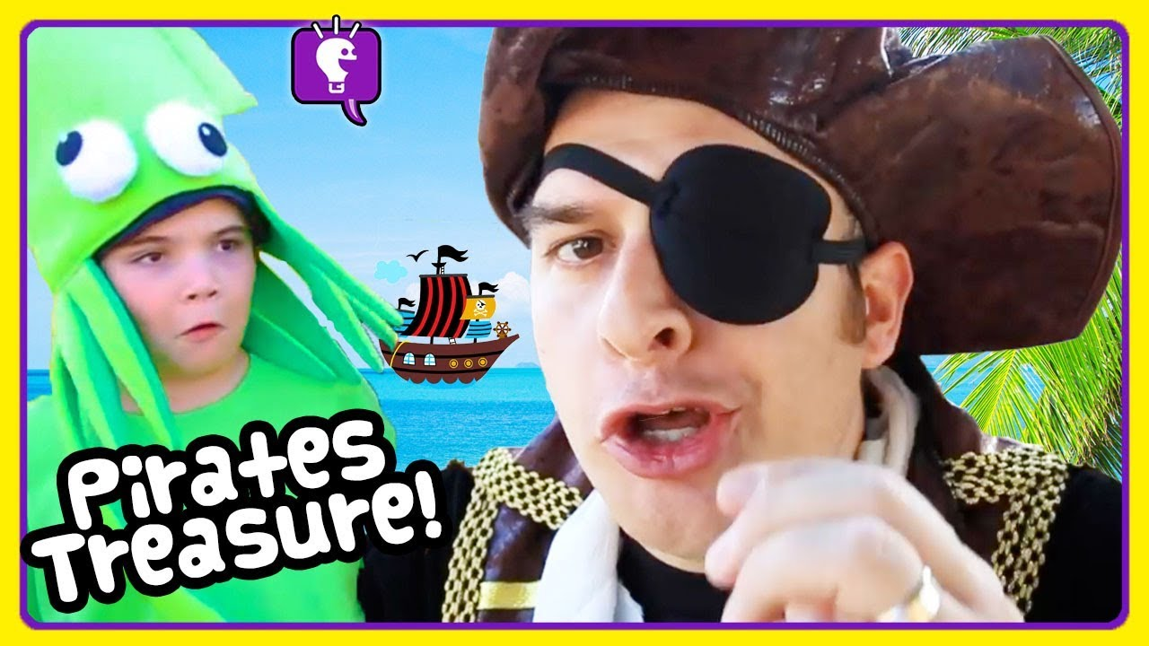PIRATE ADVENTURES COMPILATION! Treasure and Toy Play by HobbyKids