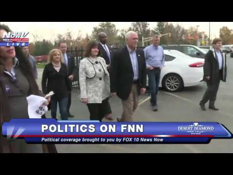 Thumbnail: FULL CLIP: Mike Pence Voting in Indiana FNN