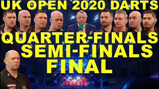 Gambar cover QF SF F 2020 UK Open Darts Championship