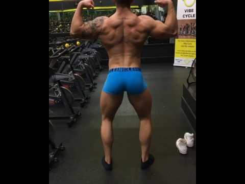 Craig Morton in the gym