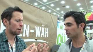 Mango Kale Chips & Quinoa Chocolate Bar Review: J-wro Lo-lo Vegan Vlog @ Expo East