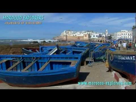 Essaouira a magical view of the old town and port on the Atlantic Coast of Morocco