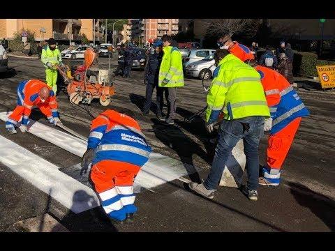 Mi riscatto per Roma, i detenuti curano le strade della Capitale