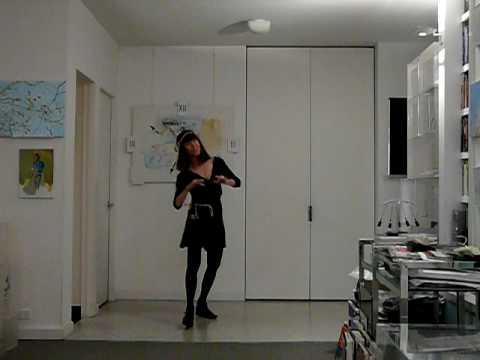 Barbara dances to