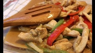 Peanut Flavored Chicken Stir Fry With Cookingandcrafting