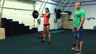 Кроссфит (CrossFit) соревнования.Стандарты выполнения движений в третьем комплексе