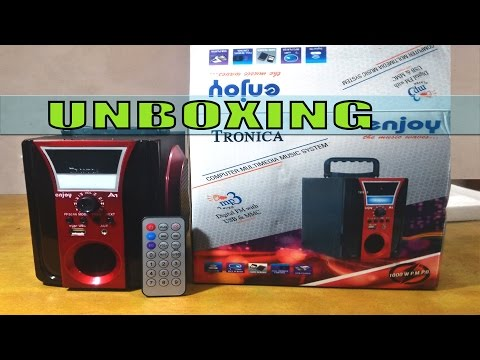 Tronica Enjoy MP3FMUSB WITH EMERGENCY LIGHT Unboxing