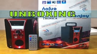 Tronica Enjoy MP3/FM/USB WITH EMERGENCY LIGHT Unboxing