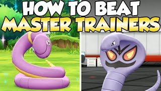 How To Beat Ekans & Arbok Master Trainers Guide!