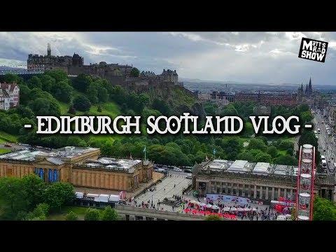 TRAVEL VLOG - SCOTLAND - Edinburgh - Fringe Festival - Walter Scott Monument.