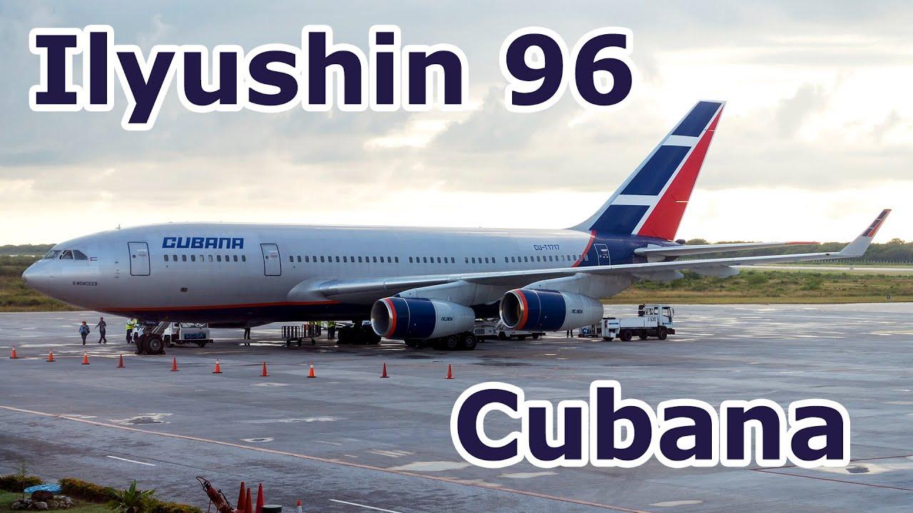 Ilyushin Il 96 Cubana Inflight Experience Cayo Coco To Havana Youtube