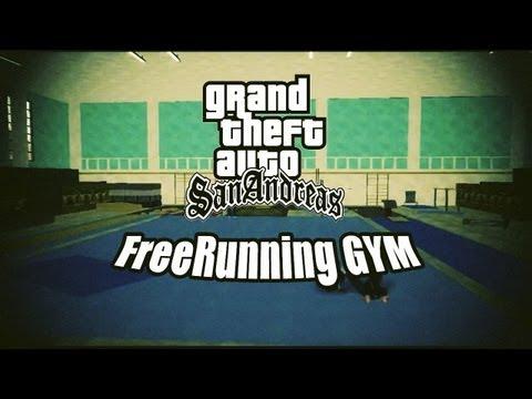 GTA SA Parkour&Freerunning   Gym times