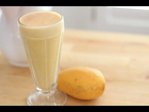 How To Make Mango Shake - SUMMER DRINK SERIES | Simply Bakings