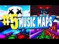 Top 5 Best Music Block Creative Maps In Fortnite | Fortnite  Map Codes