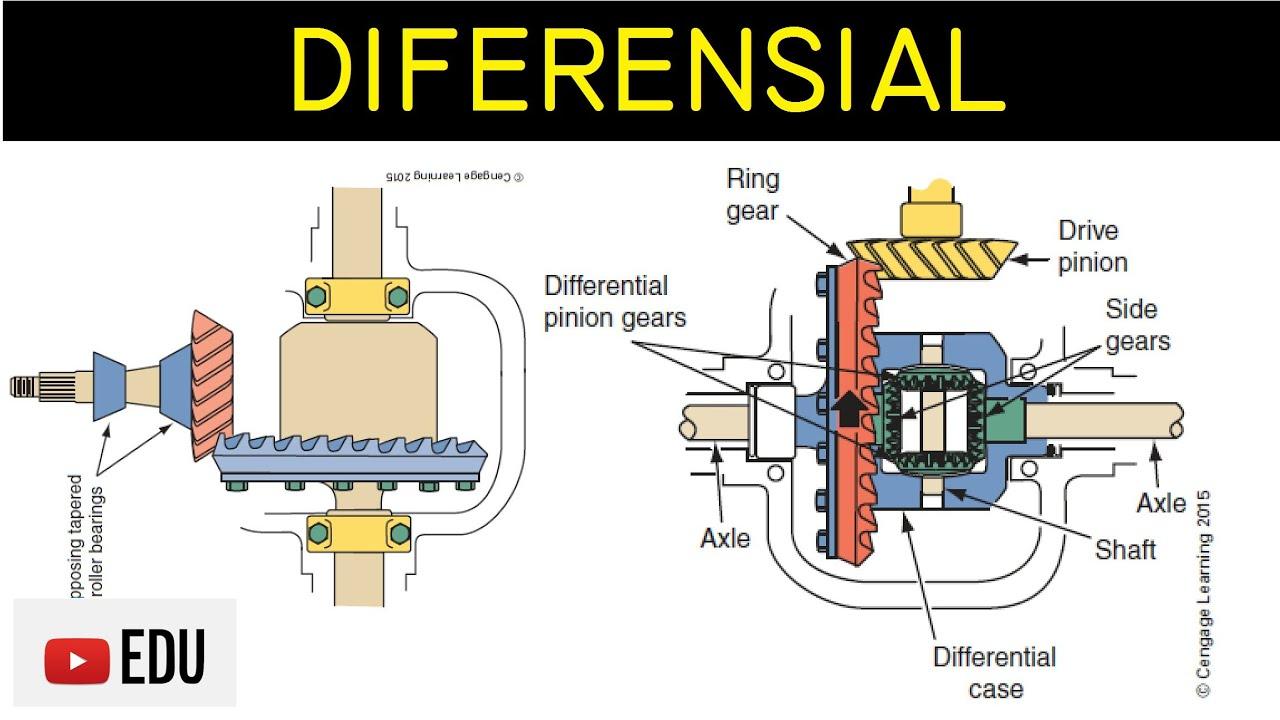 Gardan Diferensial Differential Pada Mobil Komponen Fungsi Dan Cara Kerja Youtube