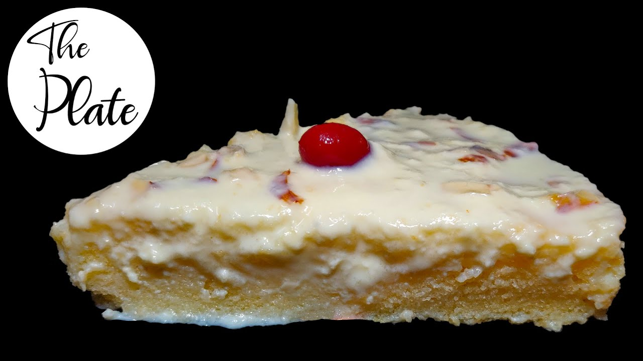 Malai Cake recipe   No egg No butter Rabdi cake   The ...