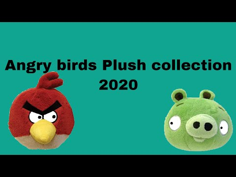 Angry Birds Plush Collection 2020