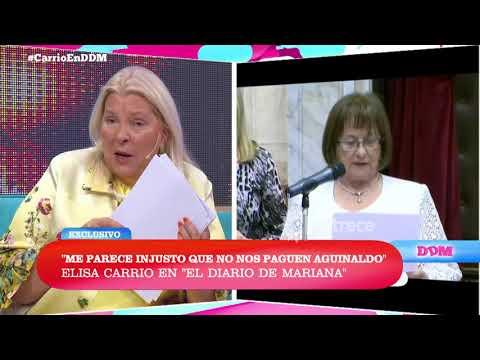 Elisa Carrió sobre la crítica de Mauricio Macri por el canje de pasajes