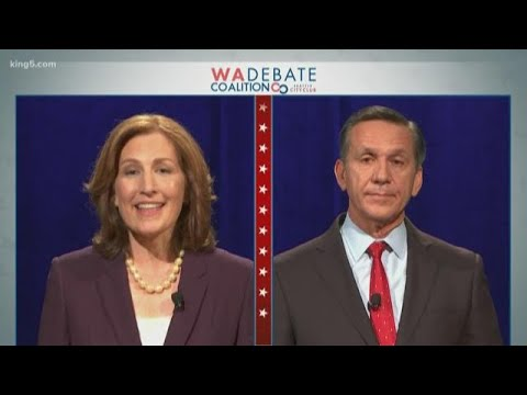 Highlights: 8th Congressional debate with Kim Schrier, Dino Rossi