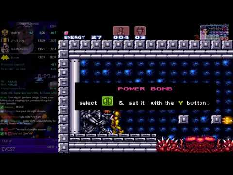 Super Metroid any% in 41:32  -1/31/2018 world record-