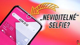 📸 První smartphone s NEVIDITELNÝM FOŤÁKEM POD DISPLEJEM! [4K]