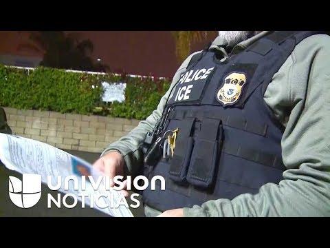 Agentes de ICE esperan la orden final para implementar la deportación expedita