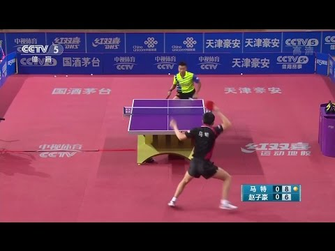 2016 China Super League: MA Te Vs ZHAO Zihao [Full Match/Chinese|HD]