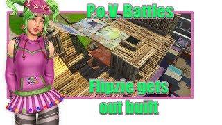 Fortnite-POV Battles Flipzie sair construído