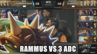 [TROLL] SUP (GBM Kai'sa) VS KBM (Zantins Rammus) Highlights - 2018 MSI Playin D4