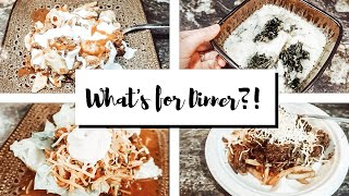 WHAT'S FOR DINNER | COOK WITH ME 2019| EASY DINNER RECIPES