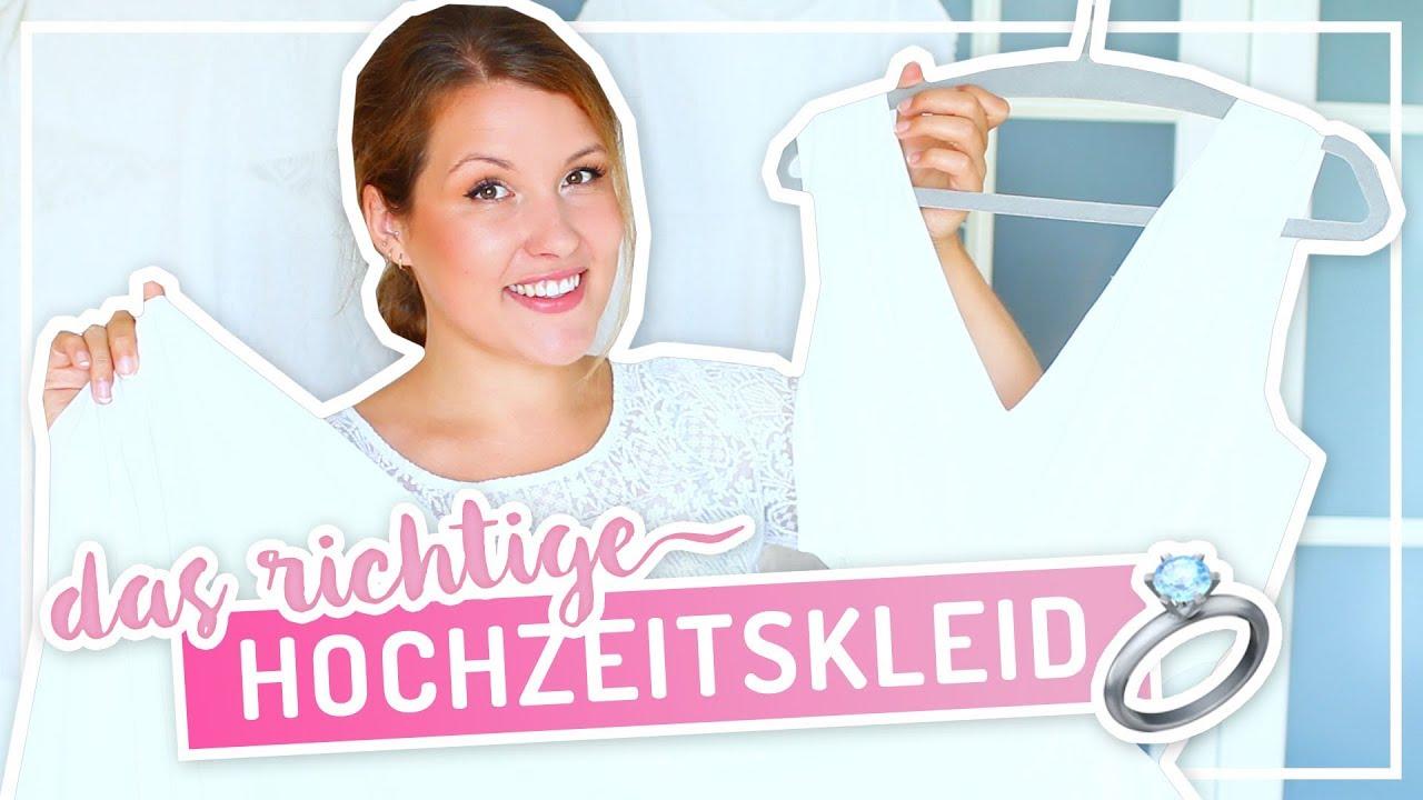 HOCHZEITSKLEID – Form, Material & Kosten #TypischSissi - YouTube