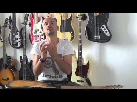 Download Youtube: LEZIONI DI BASSO: Lo strumento giusto per iniziare e non solo... (vintage, passivo, attivo, ecc...).