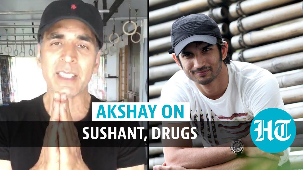 Download Watch: Akshay Kumar on Bollywood drugs row, Sushant Singh Rajput death