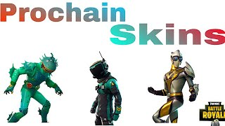 THE PROCHAIN SKINS OF FORTNITE BATTLE ROYALE