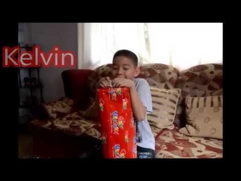 Gift Opening Part 1 Hayden Kelvin Carlos