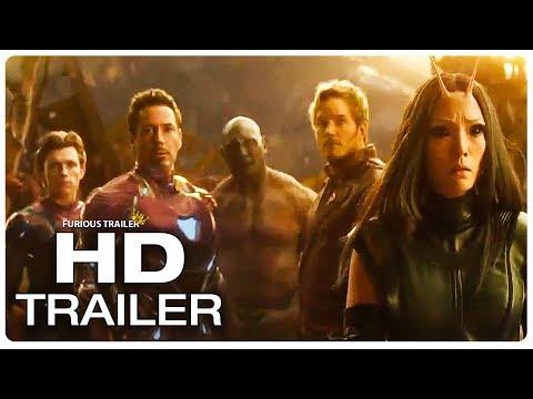 AVENGERS INFINITY WAR Thanos Throws Moon Trailer (2018) Superhero Movie Trailer HD