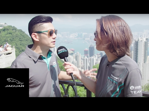 Panasonic Jaguar Racing   Formula E Hong Kong with Ho Pin Tung