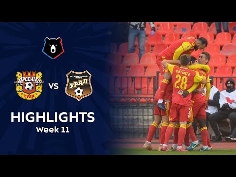 Arsenal Tula Ural Goals And Highlights