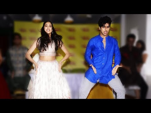 Jhanvi Kapoor & Ishaan Khattar's Zingaat Dance From Dhadak Movie 2018