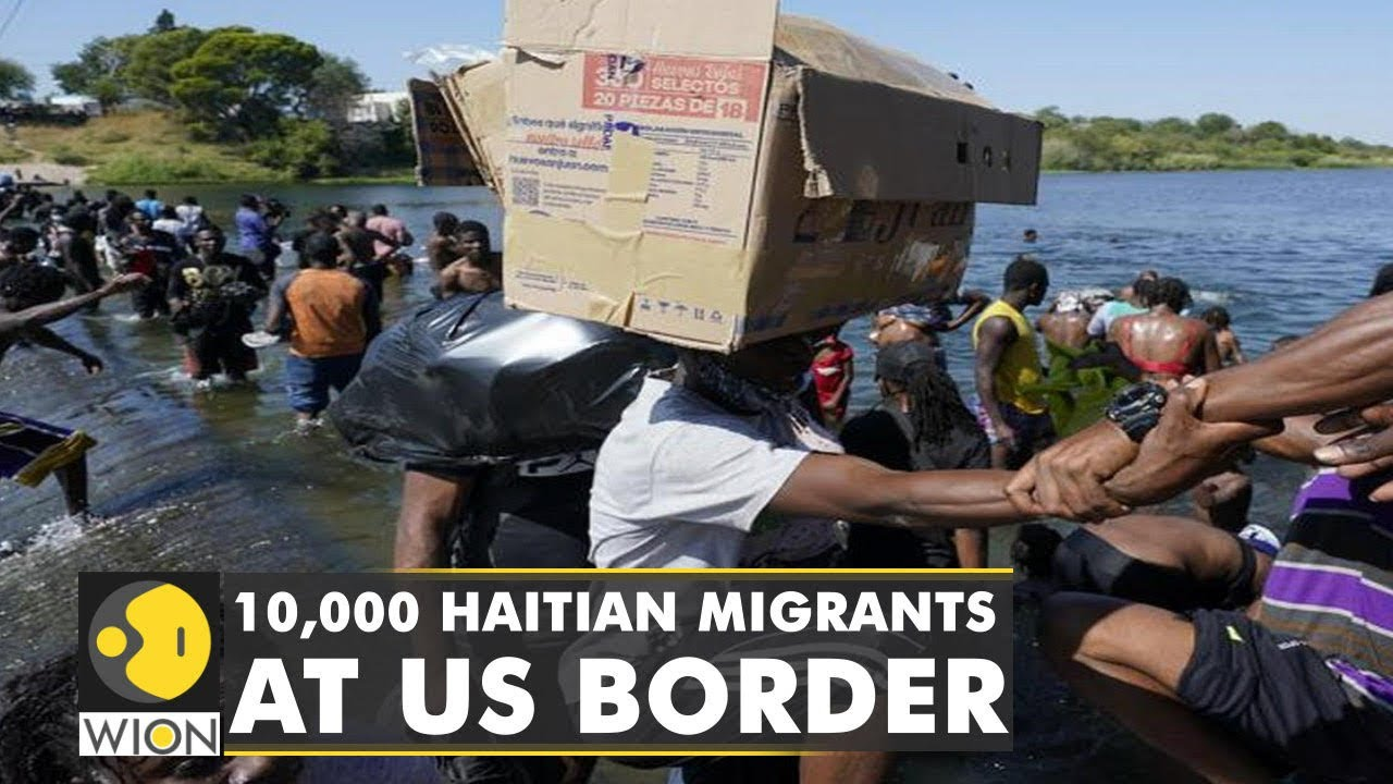 Download More than 10,000 undocumented migrants reach US from Haiti    Latest World English News   WION