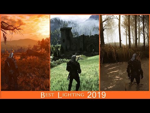 2019 BIG The Witcher 3 Lighting comparison | Extreme modded graphic comparison thumbnail