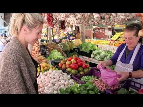 Fresh Food Shopping: Farmers Market in Porto Portugal
