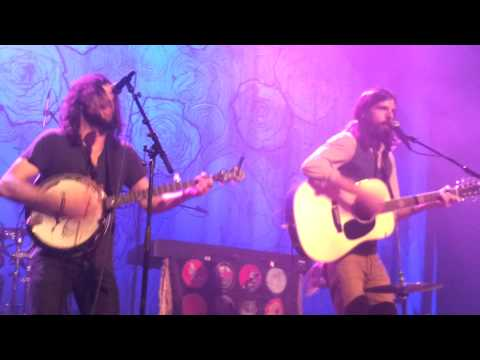 The Avett Brothers live - Spanish Pipedream (John Prine Cover) - Muffathalle Munich München 2013-03