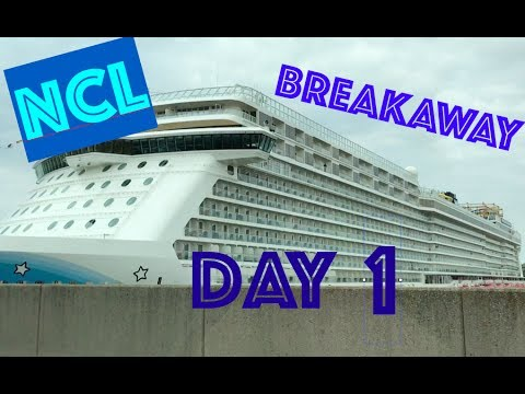 Norwegian Cruise Line Breakaway Day 2- First day on Board
