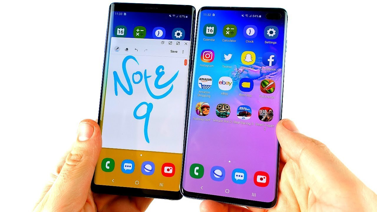 Why I'm not switching Galaxy Note 9 to S10 Plus?