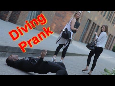 DIVING PRANK